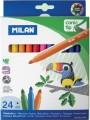 西班牙 MILAN 0612324 631大咀鳥24色粗水筆