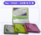 GLOBE 1020 PVC 磨砂咭片簿(20格)