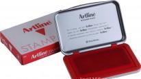 Artline 旗牌印台Size:#1 <大> 67 x 106mm / 紅色