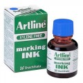 Artline 雅麗牌 ESK-20 箱頭水墨水 20ml / 藍色