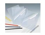 0.3mm F4透明釘裝膠片100張/盒