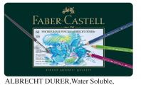 FABER 117560 專業級60色水溶木顏色(鐵盒套裝)