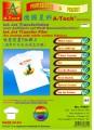 德國星科 A4 F6857 噴墨熨畫T恤膠片(適用於白色或淺色衣服) / 5張