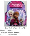 Frozen (Snow World)?14寸 Backpack?A04395