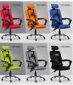 (C) 高背油壓扶手轉椅
