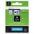 Dymo D1 帶模帶 5000&1000 用12mm X 7m - 45011