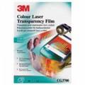 3M 彩色/黑白鐳射打印機投影膠片 CG-3700 / A4 Side /