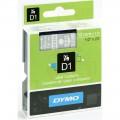 Dymo D1 帶模帶 5000&1000 用12mm X 7m