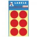 A-Label 火漆標籤貼 / 紅色  Code:24 (Dia.54mm)