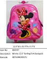 Minnie?15.5寸 Rolling EVA Backpack T Bar Trolley?804597