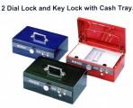 ELM 8850 鎖匙+雙重密碼錢箱