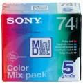 Sony MD 磁碟74分鐘5盒裝