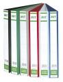 MIT 8220 A4 2孔三面插頁文件夾(25MM)